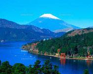 Le lac Ashi-no-ko (Fuji-Hakone)