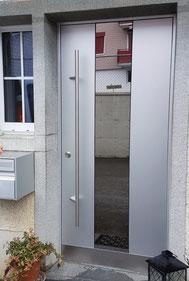 Haustüre Holz-Metall