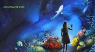 affiche publicitaire pour l'aquarium de la Rochelle