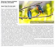 """Die """"Gisselberger Spannweite"""" aus dem Marburger Magazin Express..."""