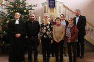 Alter und neuer Kirchenvortstand aus Frieda