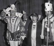 Foto des Dreigestirns Porz 1980
