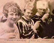 Foto des Dreigestirns Porz 1967