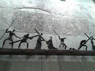 VII Estación, Jesús cae por segunda vez