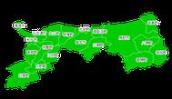 ポスティング鳥取(山陰中国)配布部数表