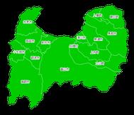 ポスティング富山(北陸中部)配布部数表