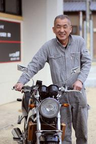 バイク工房岩月代表 岩月厚司