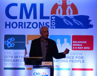 Neil Shah USA leucemie lmc france cml horizons 2014 belgrade beograd serbia advocates network chonic myelloid leukemia
