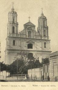 Vilniaus Šv. apaštalų Pilypo ir Jokūbo bažnyčia / Church of St. Philip and St. Jacob the Apostles