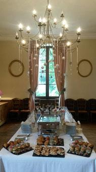 Salle à manger du Château La Hitte Vignoble AOC Buzet en Gascogne