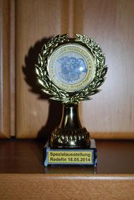 Jameikas Pokal aus Redefin