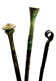 Bronzegegenstände; Achäologie im TG; AATG