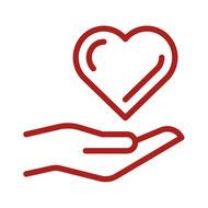Pflege mit Herz und Hand