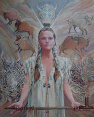 Die weiße Büffelkalbfrau verankert Dein höchstes Potential mit der Erde indem es lustvoll gelebt wird