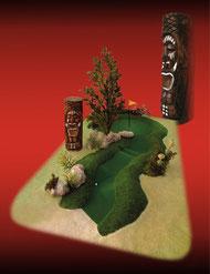 Mauqette Mini Golf Tiki