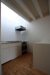 高輪M邸のキッチン