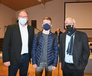 v.l. Günter Jäger, Alexander Kohnen, Karl Wirtz