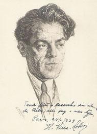 Hector  Villa lobos, compositeur  1929