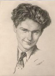 Pierre Boudousquie Bilis son fils 1947