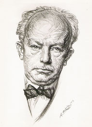 Richard Strauss, compositeur  1923