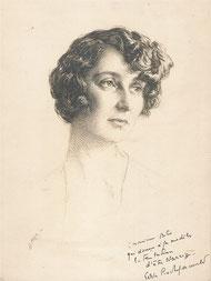 Duchesse de la  Rochefoucault   1929