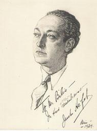 Jasha Heifetz, musicien  1929