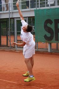 Kilian Zierhofer mit einem perfekten Debüt in der 1er-Mannschaft.
