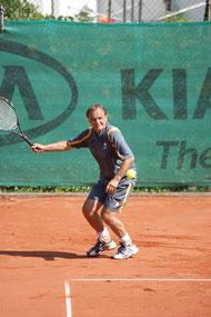 Florian Reinisch gewann in dieser Saison bereits sein fünftes Spiel für die Herren +55.