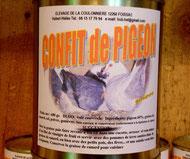 Confit de Pigeon
