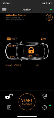 Alarmanlage für BMW