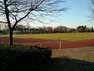 Der Sportplatz im Schulzentrum