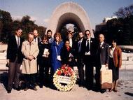13. - 28. Oktober 1986: Reise einer Friedensnetz-Gruppe nach Hiroshima.