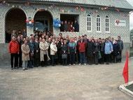 11. - 16. Mai 2005  Einweihung des neuen CVJM Hauses nach Woloshin