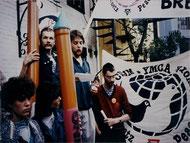 6. - 8. Mai 1988: Viertes Friedensnetz-Treffen in Bremen.