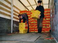 5. - 10. Januar 1991: Erster Hilfstransport nach Minsk und Smolevitschi in Weißrußland.