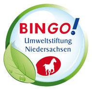 Vielen Dank an BINGO für die Förderung vieler Rasteder NABU-Projekte !