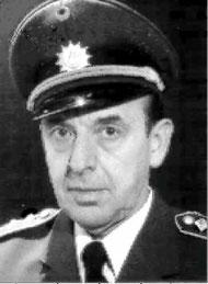 Rolf (89) im Jahr 1975 als Hauptkommissar