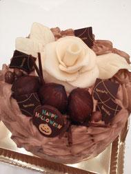 洋梨のショコラケーキ