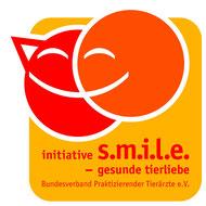 Logo der Initiative s.m.i.l.e. - gesunde tierliebe