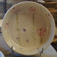 plat poterie l'empreinte à Meyronne
