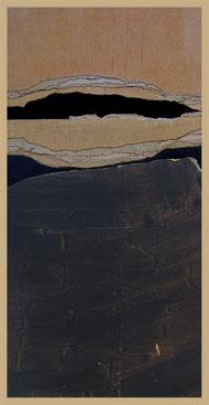 un parfum troublant de mémoire, collages par Annie Baratz artiste peintre plasticienne