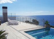 Villa Lifetime - Blick vom Pool
