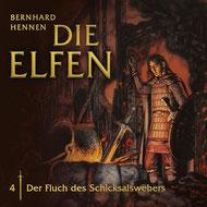 CD Cover Die Elfen - Der Fluch des Schicksalswebers