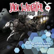 CD Cover Jack Slaughter - Draculas großes Comeback