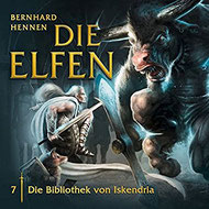 CD Cover Die Elfen - Die Bibliothek von Iskendria