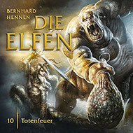 CD Cover Die Elfen - Totenfeuer