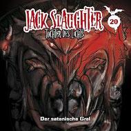 CD Cover Jack Slaughter - Der satanische Gral