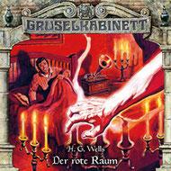 CD Cover Gruselkabinett - der rote Raum