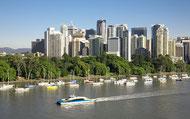 Die Stadt Brisbane