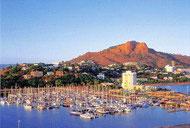 Der Hafen von Townsville